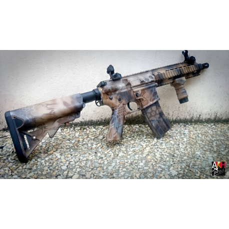 Image du produit CUSTOM WATERTRANSFERT CLASSIC ARMY M4 MK-8 FULL METAL KRYPTEK NOMAD