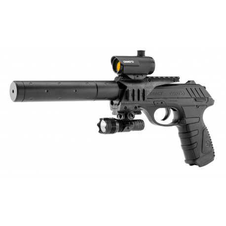 Image du produit GAMO Pistolet CO2 P25 TACTICAL - 4. 5mm - 3. 98 joules