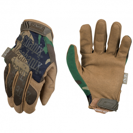 Image du produit GANTS MECHANIX ORIGINAL WOODLAND