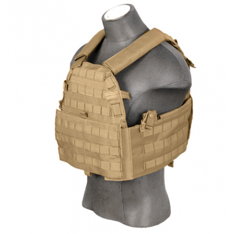 Image du produit LANCER TACTICAL Plate Carrier 69T4 tan 1000D