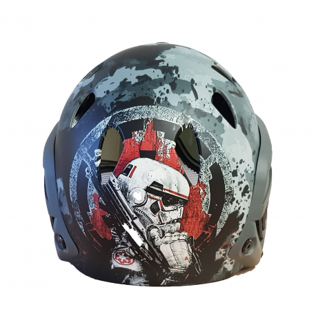 Image du produit WARQ CASQUE CUSTOM STAR WARS UNIQUE COMPLET ANTI-BUEE FOLIAGE