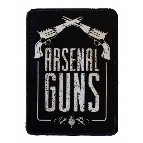 Image du produit PATCH TISSE ARSENAL GUNS