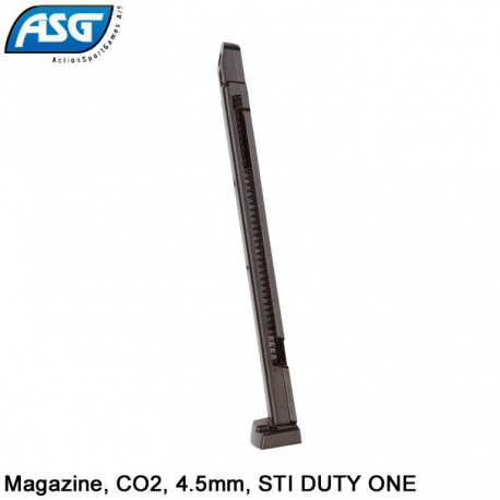 Image du produit ASG CHARGEUR CO2 STI DUTY ONE PLOMB 44.5mm