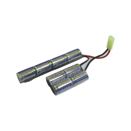 Image du produit BATTERIE SWISS ARMS 9.6V 1600MAH NIMH INTELLECT