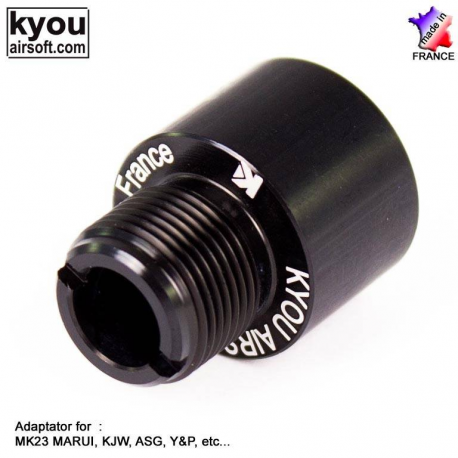 Image du produit Kyou - Adaptater MK23/USP/FNX45 (16mm to 14mm CCW Thread)