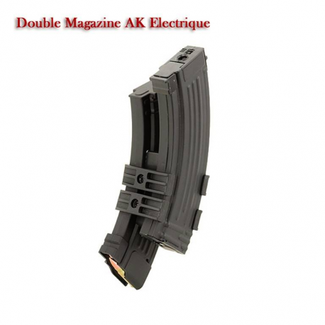 Image du produit AK Double Mag Electronic With battery holder 1100 bbs