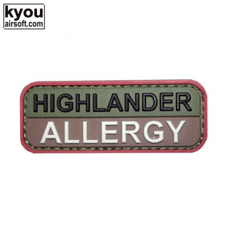 Image du produit PATCH HIGLANDER ALLERGY