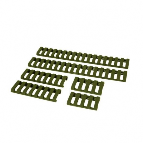 Image du produit Rail cover - Rubber - FG - (4 piece set)